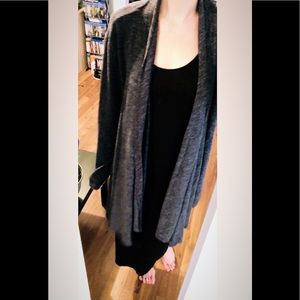 Long Front Open Cozy Cardigan